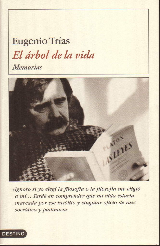 Las memorias de Eugenio Trías en sus primeros 33 años de vida