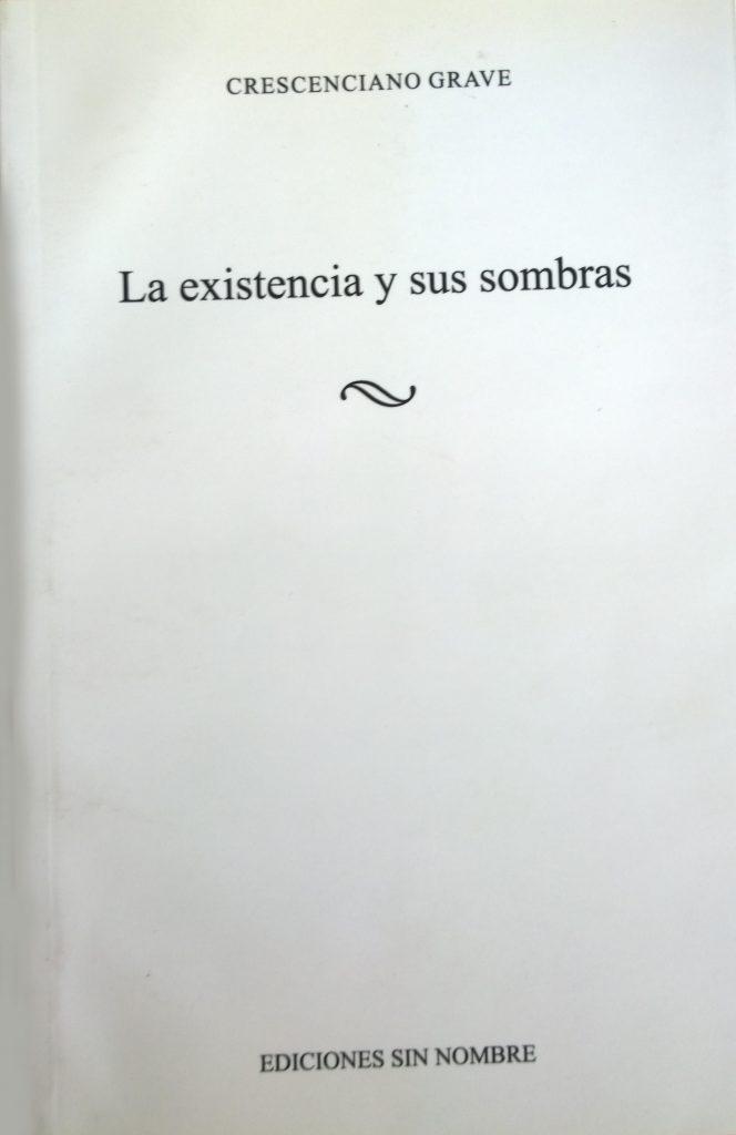 Texto de Cresenciano Grave sobre el pensamiento de Eugenio Trías